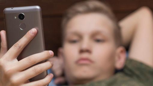 Teen watching pornography